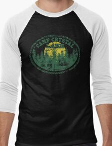Camp Crystal Lake Retro Distressed T-Shirt