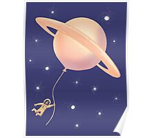 Under Saturn Flying Dream Poster
