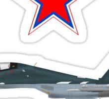 """Sukhoi Su-30SM Flanker-C VKS """"02"""" Sticker"""