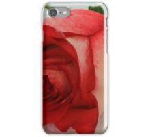 Long Stem Red Rose iPhone Case/Skin