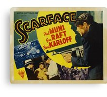 Gangster Movie - Scarface 1932 Canvas Print