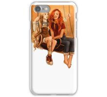Luna Lovegood ang Ginny Weasley iPhone Case/Skin