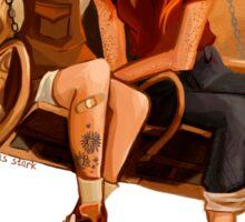 Luna Lovegood ang Ginny Weasley Sticker