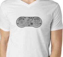 Super Nintendo (SNES) Controller - X-Ray Mens V-Neck T-Shirt