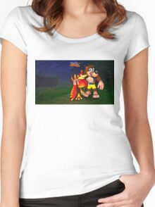 Kazooie Women's Fitted Scoop T-Shirt