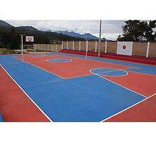 Outdoor Sports Complex Photographic Print