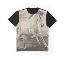 Wild galloping horse Graphic T-Shirt