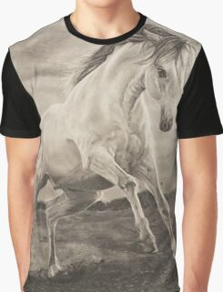 Wild galloping horse Graphic T-Shirt