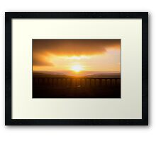Ribblehead viaduct Framed Print
