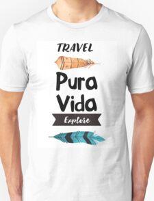 Pura Vida - Feather Unisex T-Shirt