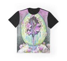 Alien Spider Egg Graphic T-Shirt