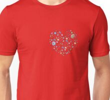 Heart from jewels Unisex T-Shirt
