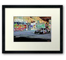 Streetart Melbourne Framed Print
