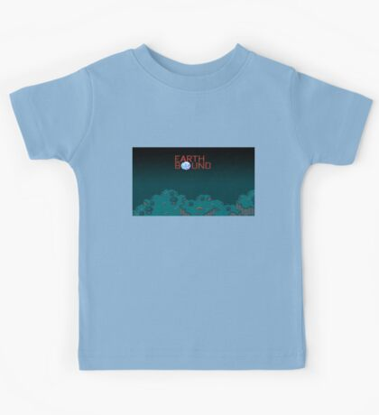 Earthbound Videogame Kids Tee