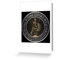 Viking National Guard  Greeting Card