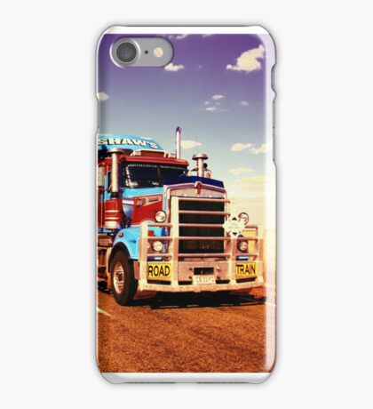 Road Trains of Australia iPhone Case/Skin