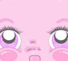 Cute Meanie teddy bear Sticker