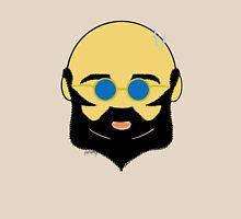 Facial hair with shiny bald head Unisex T-Shirt