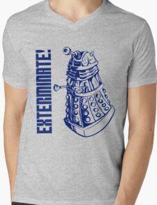 EXTERMINATE! (With Caption) Mens V-Neck T-Shirt