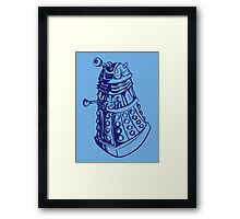EXTERMINATE! Framed Print