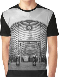 Subway Entrance Graphic T-Shirt