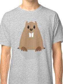 GROUNDHOG & SHADOW Classic T-Shirt