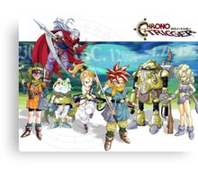 Chrono heroes Canvas Print