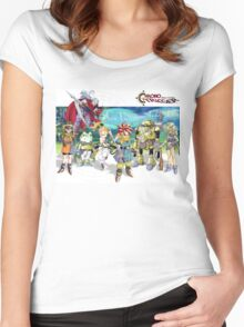 Chrono heroes Women's Fitted Scoop T-Shirt