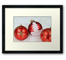 Christmas and holidays Decoration Framed Print
