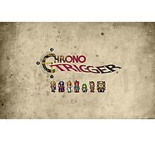 Chrono trigger - grunge background Photographic Print