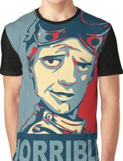 HORRIBLE PROPAGANDA Graphic T-Shirt