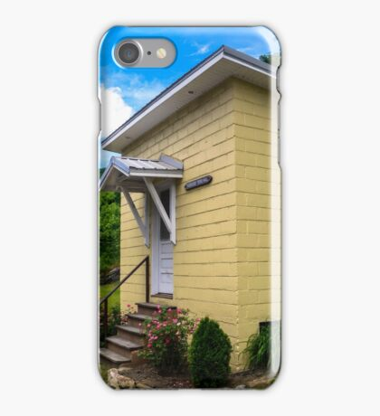 Small Town, Small Hall  iPhone Case/Skin