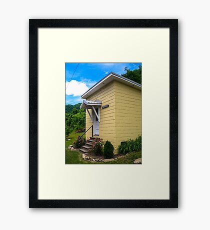 Small Town, Small Hall  Framed Print
