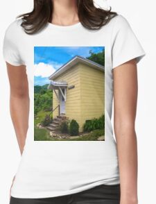 Small Town, Small Hall  Womens Fitted T-Shirt