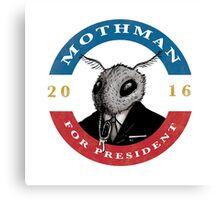 2016 Mothman Campaign Memorabilia Canvas Print