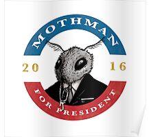2016 Mothman Campaign Memorabilia Poster