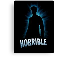 Horrible Shadow Canvas Print