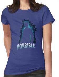 Horrible Shadow Womens Fitted T-Shirt
