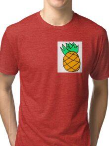 Scruffy Pineapple Colour Tri-blend T-Shirt