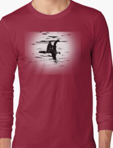 Bigfoot and the Loch Ness Monster team-up confirmed? Long Sleeve T-Shirt