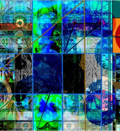 BLUE GENESIS 555 Sticker
