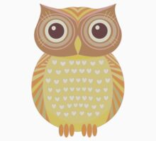 One Friendly Owl One Piece - Short Sleeve
