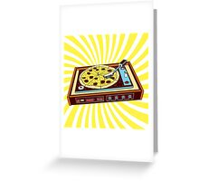 TURNPIZZA Greeting Card