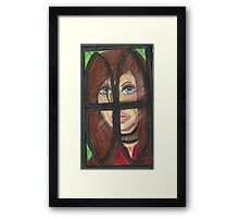 The Sad Contessa Framed Print