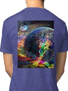Rainbow Dragon Tri-blend T-Shirt