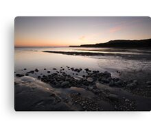 Sunset at Kimmeridge Bay Canvas Print
