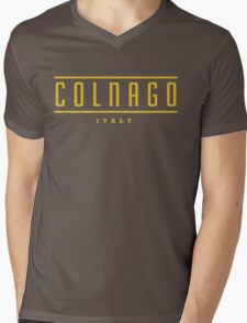 Colnago Vintage Bicycles Italy Mens V-Neck T-Shirt