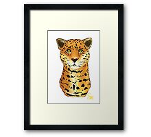 The Jaguar - Bust Framed Print