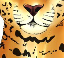 The Jaguar - Bust Sticker