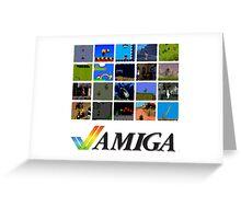 Commodore Amiga - Games 10 Greeting Card